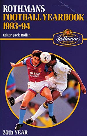 Rothmans Football Yearbook 1993-94: Rothmans 1993