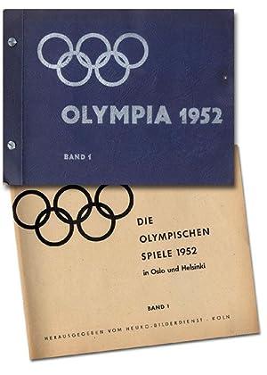 Die Olympischen Spiele 1952 in Oslo und Helsinki. Band1.: Sammelbilder-Heuko