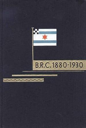 50 Jahre unter dem roten Stern. 1880 - 1930. Festschrift des Berliner Ruder-Club.: Wernicke, Paul