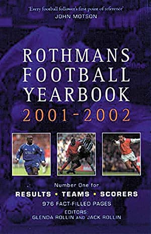 Rothmans Football Yearbook 2001-02: Rothmans 2001