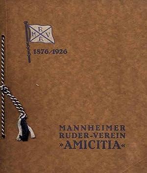 """50 Jahre Mannheimer Ruder-Verein """"Amicitia"""". 1876/1926.: Ruder - Verein Mannheim"""