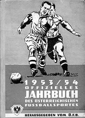Offizielles Jahrbuch 1953/1954 des Österreichischen Fussball-Bundes.: Schidrowitz, Leo