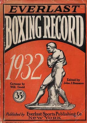 Everlast Boxing Record 1932.: Romano, John J.