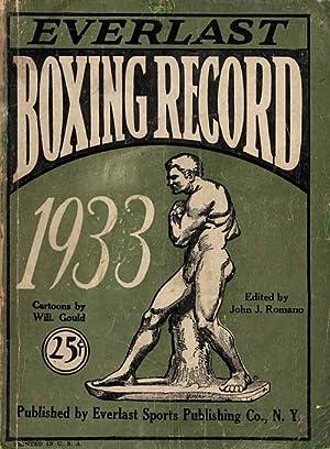 Everlast Boxing Record 1933.: Romano, John J.