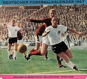 Deutscher Fußballkalender 1967.: Becker 67, Dr.Friedebert
