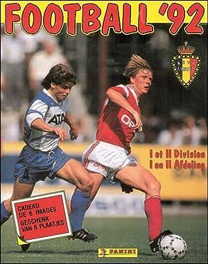 Football 92. I et II Division. Panini '92 Belgium. Sammelalbum.: Sammelbilder-Panini B92