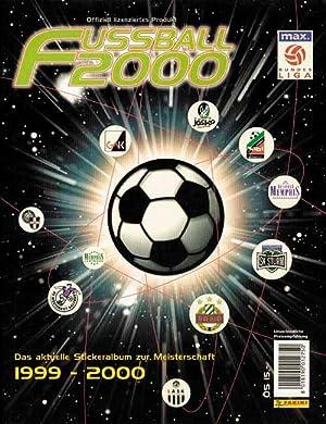 Fussball 2000. Österreichische Bundesliga.: Sammelbilder-Panini Ö00