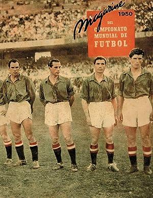 Magazine del Campeonato Mundial de Futbol 1950.: Karag/Frutos/Erre