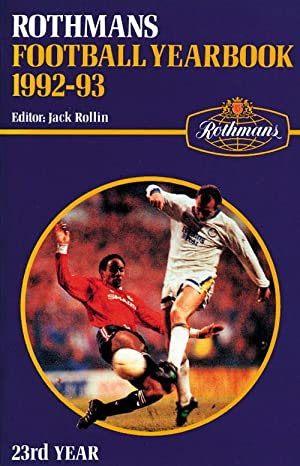 Rothmans Football Yearbook 1992-93: Rothmans 1992