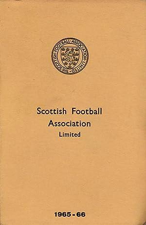 Scottish Football Association Limited 1965 - 1966.: SFA 1965-66