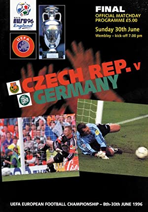 Final-Matchday 30.June: Czech Rep. vs Germany.: Programm EM1996