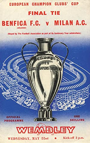 European Champions Club's Cup Finale: Benfica F.C. - Milan F.C. am 22.5.1963 im Wembley ...
