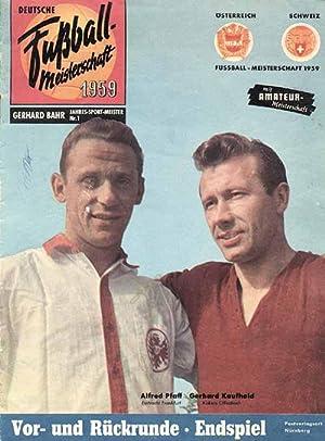 Deutsche Fußball-Meisterschaft 1959: Bahr F59, Gerhard