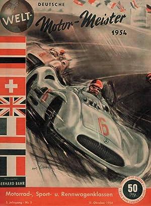 Deutsche Welt-Motor-Meister 1954.: Bahr M54, Gerhard