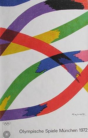 Piero Dorazio: Olympische Spiele München 1972: Plakat OSS72