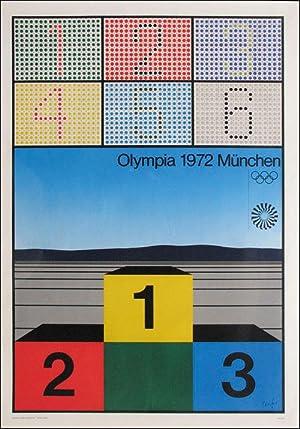 Werner Nöfer: Olympia 1972 München: Plakat OSS72