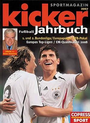 Kicker Fußball-Jahrbuch 2007.: Jahrbuch des Fußballs 07