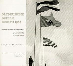Olympische Spiele Berlin 1936.: Krause, Dr.Gerhard