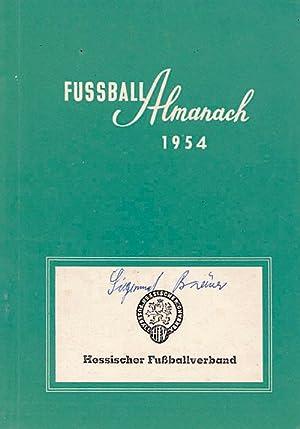 Fußball-Almanach 1954. Anschriften des deutschen Fußballsportes. Hessischer Fuß...