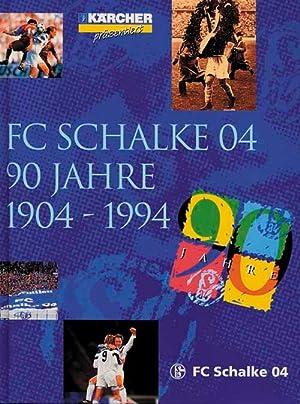 FC Schalke 04 - 90 Jahre - 1904-1994.: Schalke - Steiniger