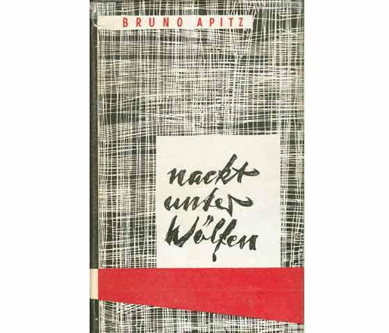 """Konvolut """"Bruno Apitz/""""Nackt unter Wölfen"""". 2 Titel. 1.) Nackt unter Wölfen, Roman ."""