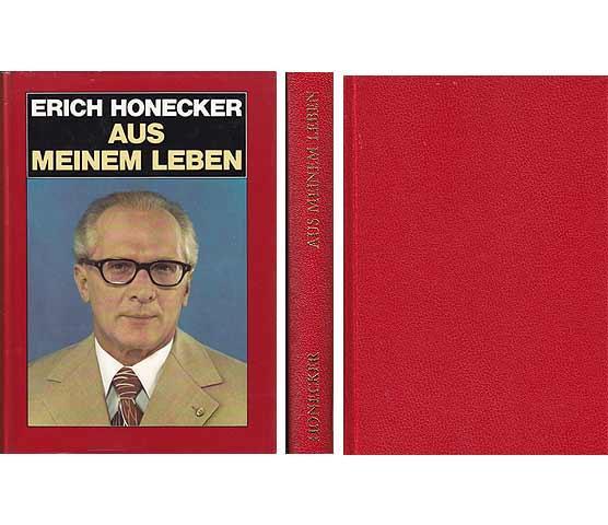 Erich Honecker Aus meinem Leben 1981 DDR