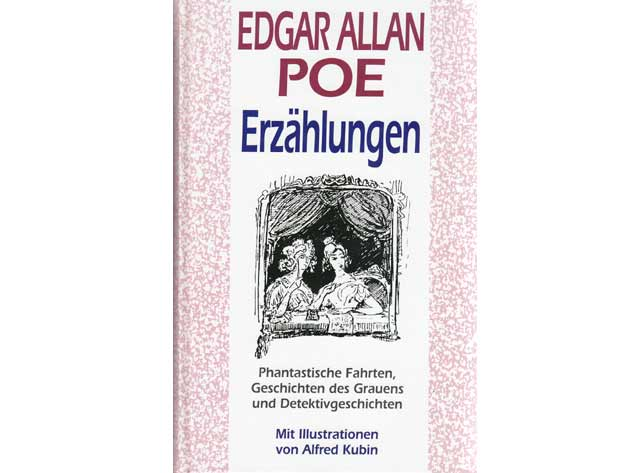 "Büchersammlung ""Edgar Allan Poe"". 6 Titel. 1.): Poe, Edgar Allan"