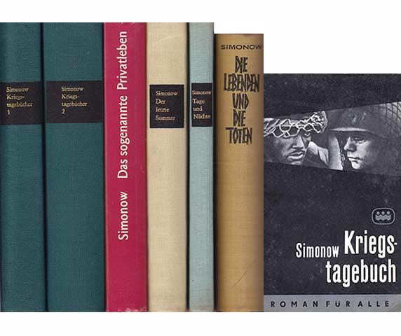 "Konvolut ""Konstantin Simonow"". 16 Titel. 1.) Das: Simonow, Konstantin"