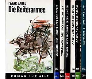"""Kleine Bibliothek """"Taschenbücher - Roman für alle,: Babel, Isaak u."""