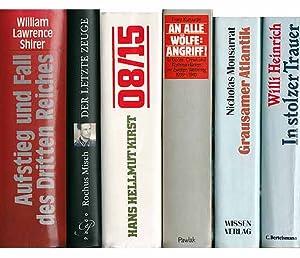 """Büchersammlung """"Zweiter Weltkrieg/Deutsches Reich/Zeitzeugen"""". 10 Titel. 1.): Shirer, William Lawrence"""