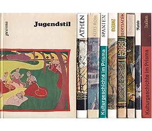 """Büchersammlung """"Reisen in die Kulturgeschichte"""". 9 Titel.: Sarkady, Janos u."""