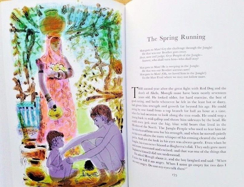 THE JUNGLE BOOKS KIPLING, Rudyard