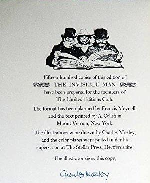 THE INVISIBLE MAN: WELLS, H. G