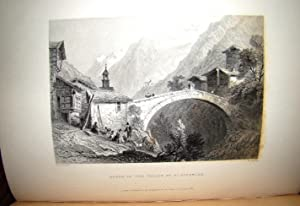 SWITZERLAND. ILLUSTRATED IN A SERIES OF VIEWS TAKEN ON THE SPOT AND EXPRESSLY FOR THIS WORK BY W....