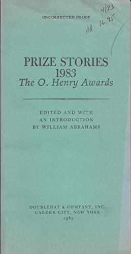 PRIZE STORIES 1983. THE O. HENRY AWARDS
