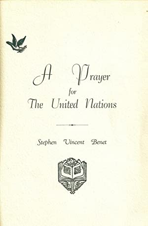 A PRAYER FOR THE UNITED NATIONS