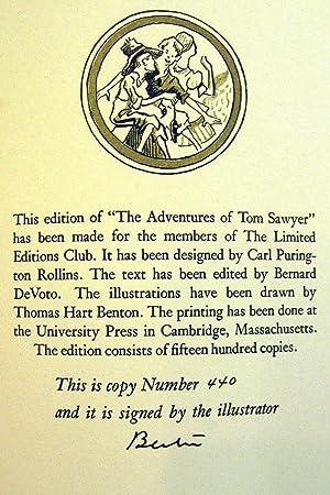 THE ADVENTURES OF TOM SAWYER: TWAIN, Mark [CLEMENS,