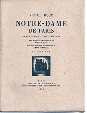 NOTRE-DAME DE PARIS: HUGO, Victor