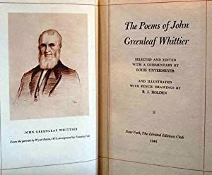 THE POEMS OF JOHN GREENLEAF WHITTIER
