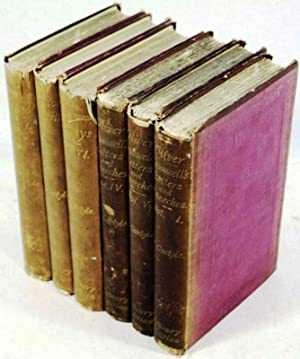 THOMAS CARLYLE'S COLLECTED WORKS from the library of Henry James