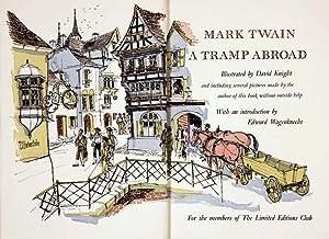 A TRAMP ABROAD: TWAIN, Mark (CLEMENS,