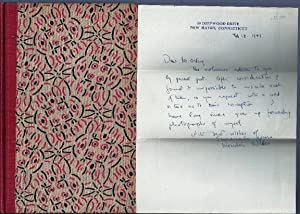 THE CABALA with AUTOGRAPH LETTER SIGNED (ALS)