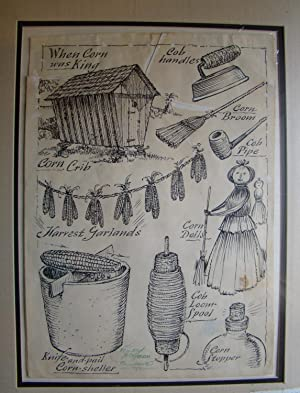 ORIGINAL DRAWING used on page 80 of THE SECOND BARREL