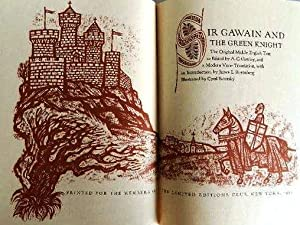 SIR GAWAIN AND THE GREEN KNIGHT. The
