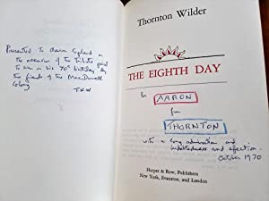 THE EIGHTH DAY INSCRIBED TO AARON COPLAND