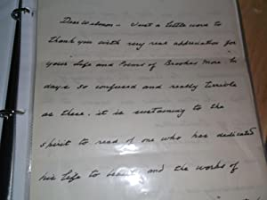 ARCHIVE OF 4 AUTOGRAPHED LETTERS SIGNED