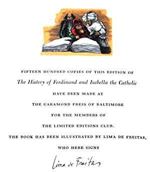 THE HISTORY OF THE REIGN OF FERDINAND AND ISABELLA THE CATHOLIC