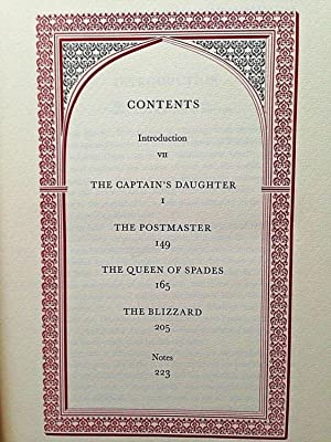 THE CAPTAIN'S DAUGHTER & OTHER STORIES