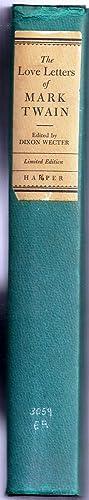 THE LOVE LETTERS OF MARK TWAIN: ROOSEVELT, Eleanor] TWAIN,