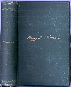 WINTER: FROM THE JOURNAL OF HENRY D. THOREAU